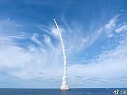 一箭九星海上成功发射