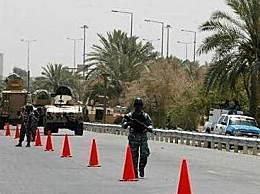 英国外交车辆在伊拉克遇袭