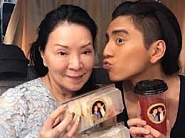 王大陆为妈妈庆冥诞