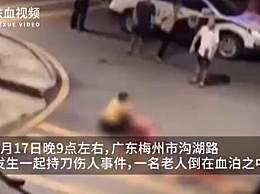 广东男子持刀砍杀父亲
