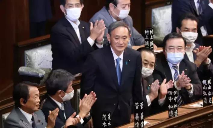 特朗普祝贺菅义伟就任首相