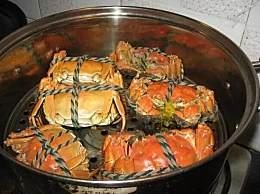 蒸螃蟹是冷水下锅还是热水下锅
