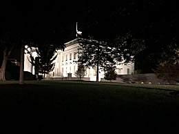 白宫降半旗悼念金斯伯格