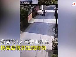 警方通报11岁女孩骑车被恶意拽倒摔伤