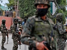 印度部队一天内两次遭袭击