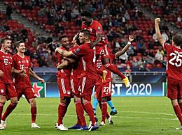 拜仁夺得欧洲超级杯