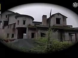 重庆南山豪华别墅群变鬼城