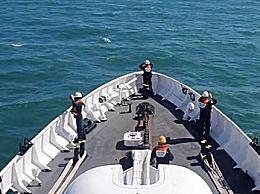 韩国海警寻找被朝射杀公务员遗体