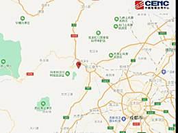 都江堰3.4级地震