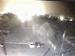 乌克兰军机坠毁前致命瞬间