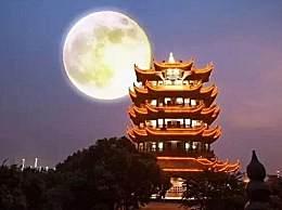 1985年以来黄鹤楼首次开放夜游