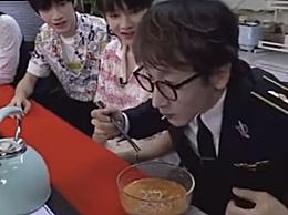 刘谦把碎纸条变成面条吃了