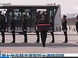 第七批在韩烈士遗骸回国