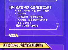 2020年央视国庆晚会节目单