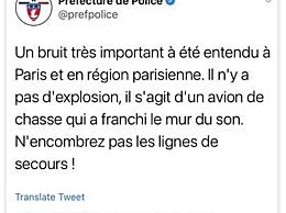 法国巴黎发生重大爆炸事件