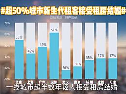 深圳对租房结婚的接受度全国最高