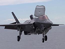 美军F-35B撞加油机坠毁 飞行员跳伞逃生