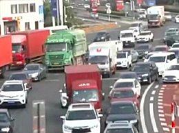 今天14时至23时高速将出现拥堵