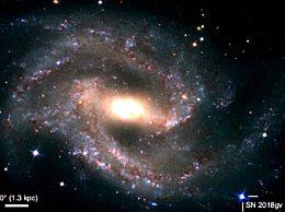 深空超新星影像