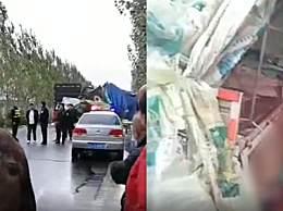 吉林两货车相撞 已致18死
