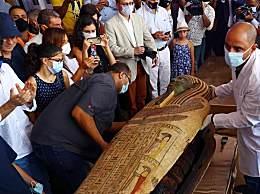 埃及出土59具2500年前的木棺