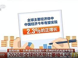 研究:全球经济或萎缩4.4%
