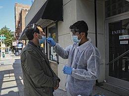 美国新冠肺炎超765万例 8日新增超56000例