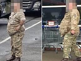 英国一体重340斤士兵被赶出部队 竟是因为太胖无法战斗!