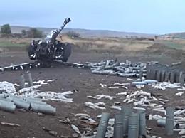 阿塞拜疆在纳卡地区发动坦克攻击