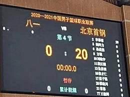 八一男篮缺席CBA新赛季首战