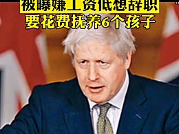 英首相被曝嫌工资低想辞职