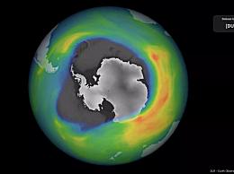 2020年南极臭氧洞,最大和最深的空洞之一