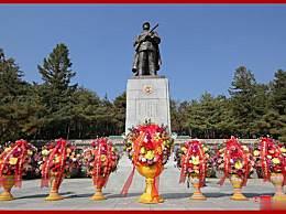 金正恩参谒志愿军烈士陵园