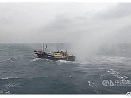 大陆渔船遭台舰水炮驱离