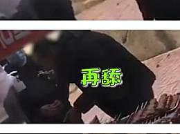 糖葫芦小贩用唾液沾芝麻被拍下