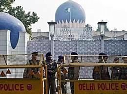 印度士兵在大使馆外开枪自杀