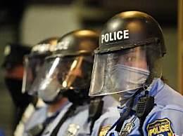 美国费城警察枪杀黑人引发抗议冲突