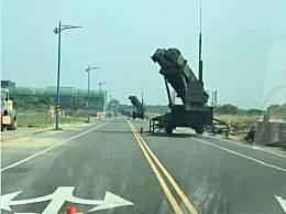 台湾马路惊现导弹发射车