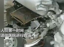 江西大客车与面包车相撞致7死1伤