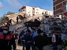 爱琴海地震已致土耳其20人遇难