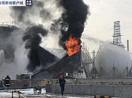 兰州一化工厂发生闪爆