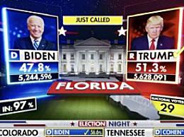 特朗普拿下关键州佛罗里达