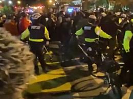 美国白宫附近发生冲突 2人被捕