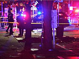 美国西雅图发生枪击案