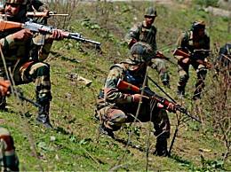 印军遭遇近来最严重伤亡