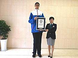 14岁男孩身高创吉尼斯纪录