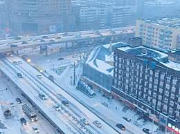 哈尔滨下雪