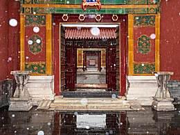 北京初雪故宫秒变紫禁城