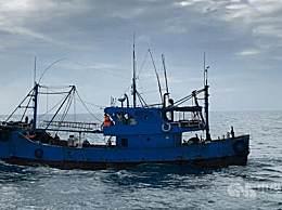 台海巡队登检大陆船只扣押 6人
