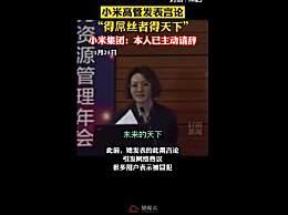 小米集团回应王嵋错误言论